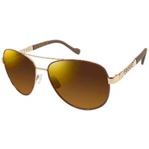 Jessica Simpson J5359 Gldnd Aviator Sunglasses